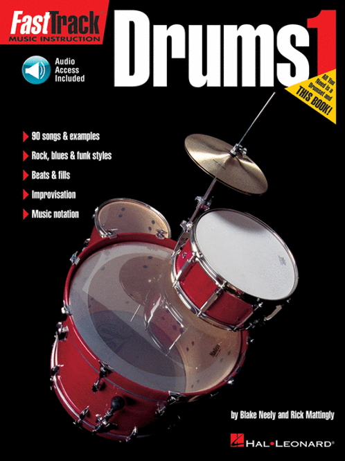 Fast Track Drums Book 1