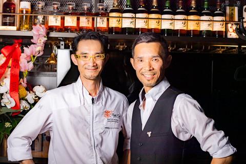 Nodaya's brother Hiro & Raita