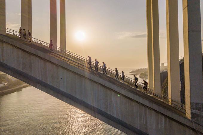 Subimos a Ponte da Arrábida - Porto