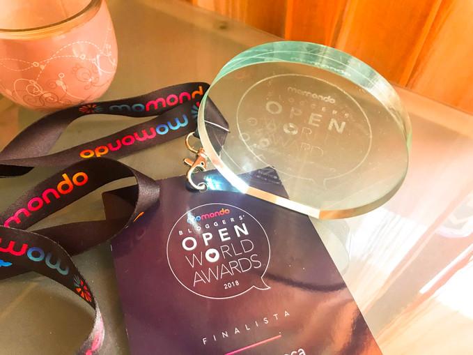 O nosso 1º troféu -  Open World Awards, Momondo