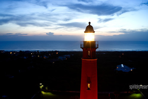 Ponce Inlet Light House at dawn