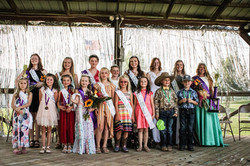 2021 Fair clover sprout court, Junior Queen Court , Fair Queen Court