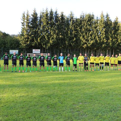 Fußballspiel vs Union