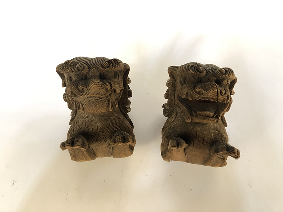 Shishi Statues (pair) [A-ST 112]