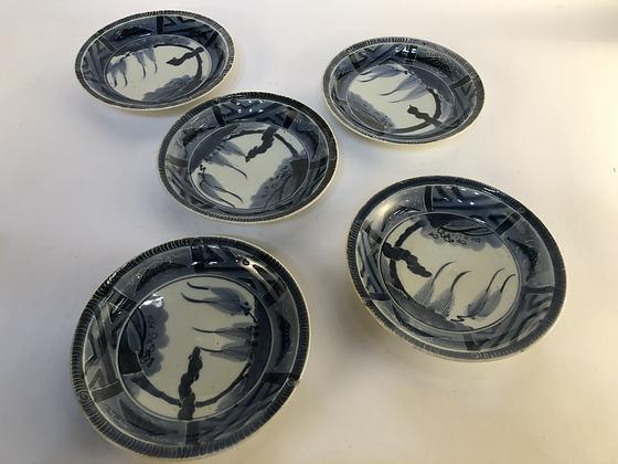 Imari Plates (set of five) [DW-P 104]