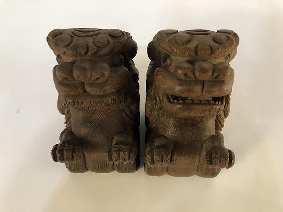 Shishi Statues (pair) [A-ST 113]