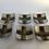 Thumbnail: Bizen Plates (set of six) [DW-P 102]