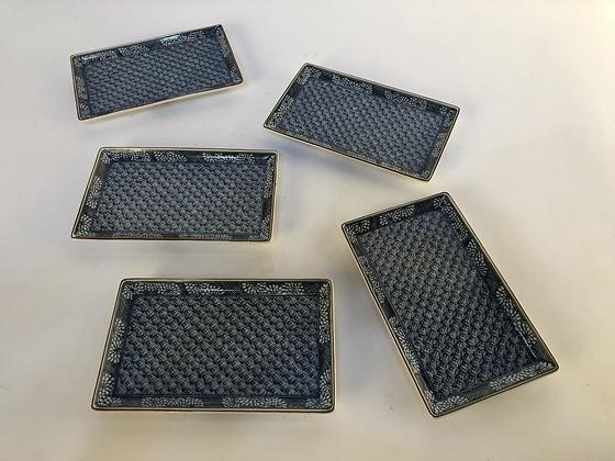 Imari Plates (set of five) [DW-P 103]