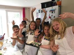Sushi-making parties