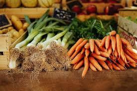 Fresh local produce at Wolvercote Community Market