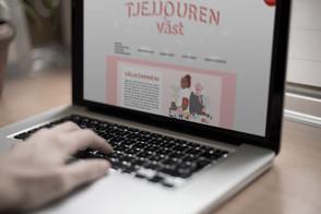 Tjejjouren Väst | Webdesign & Illustration