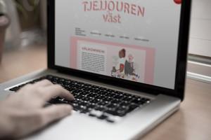 Tjejjouren Väst | Webpage & Illustration