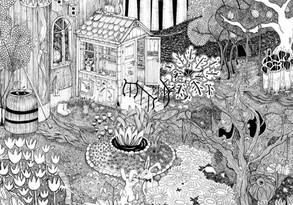 Illustration | Efterfesten