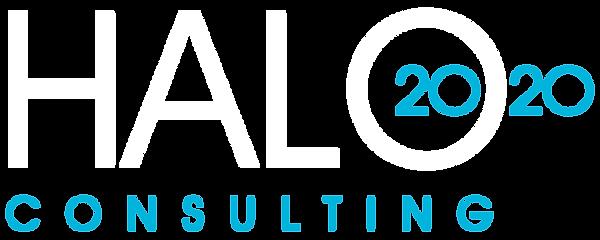 Halo 2020 logo Final white for dark back
