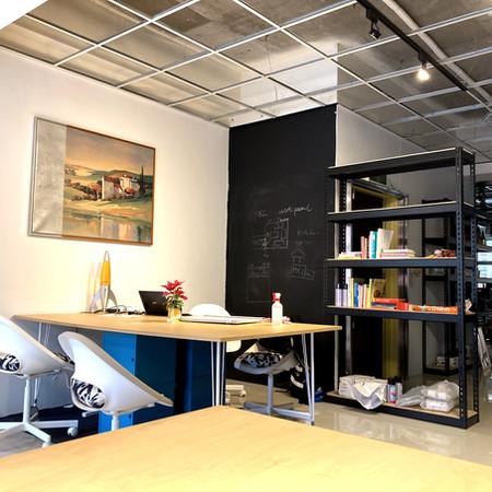 Spaces to huddle 舒適的討論空間