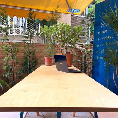 Spaces to breathe fresh air 隨時可以轉換環境的空間