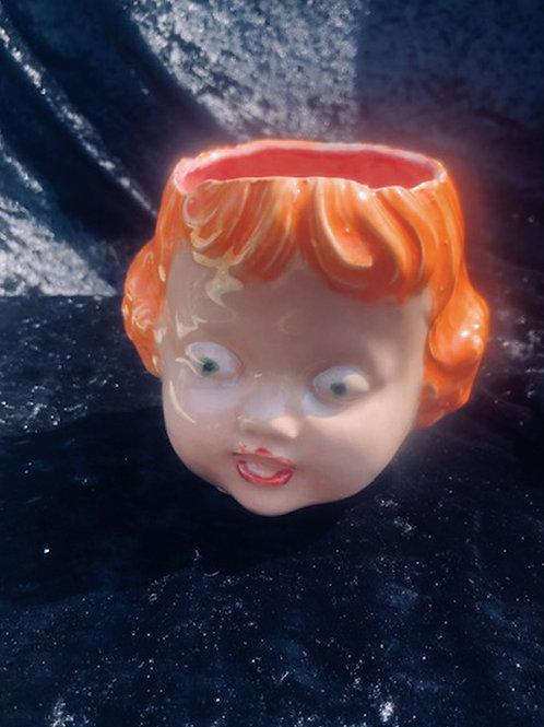 BABY GIRL HEAD  BOWL