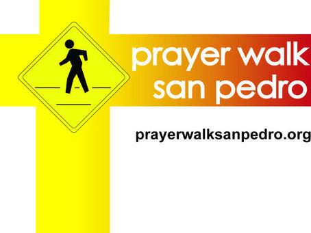 San Pedro Prayer Walk Returns