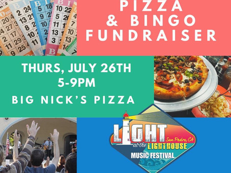 Pizza & Bingo Fundraiser Night