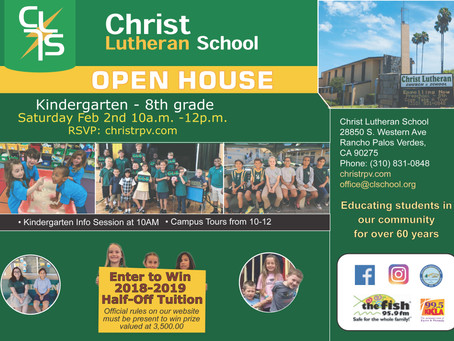 Christ Lutheran Open House