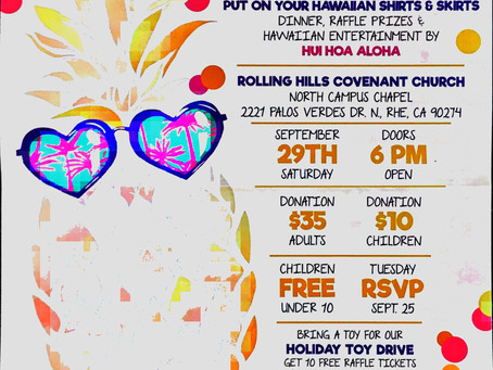 A Love INC Luau & Fundraiser Dinner