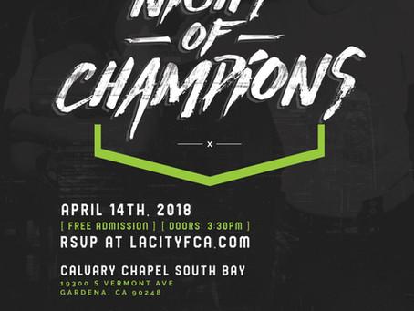 FCA Night of Champions