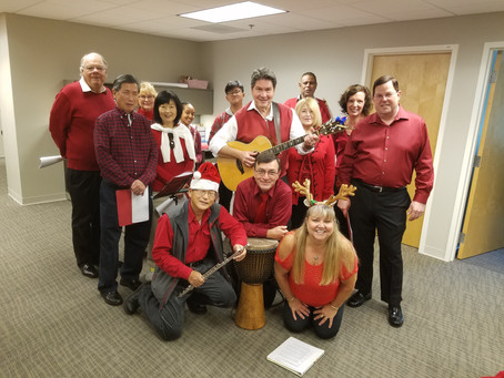 Light at the Lighthouse Festivals Sponsors Christmas Carols at Local Hospitals