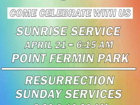 Calvary Sunrise Service