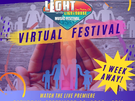 San Pedro's Light at the Lighthouse Music Festival Goes Virtual This Year