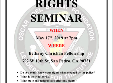 KNOW YOURRIGHTS SEMINAR