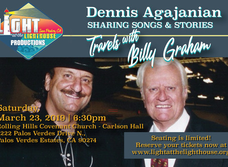 Dennis Agajanian Shares Songs and Stories of Travels with Rev. Billy Graham