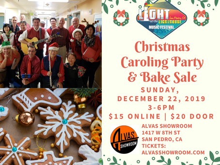 Christmas Caroling Party & Bake Sale