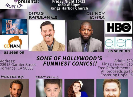 A Night of Pure Comedy!