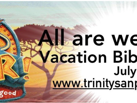Trinity Lutheran Vacation Bible School
