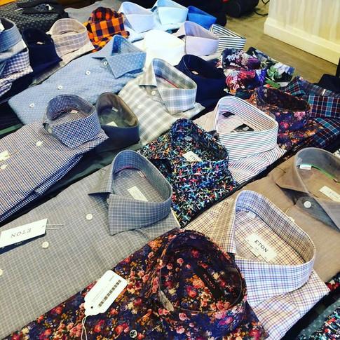 Men's Eton Dress Shirts Toronto Menswear