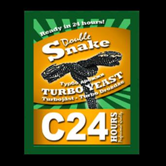 Турбо дрожжи Double Snake 24 Turbo, 175 гр.