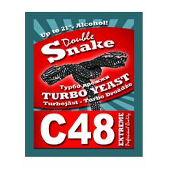 Турбо дрожжи Double Snake 48 Turbo, 130 гр.