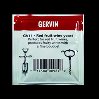 Винные дрожжи Gervin GV11 Red Fruit Wine, 5 гр.