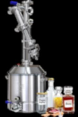 Мощный самогнный аппарат Luxstahl 7 делает перегонку до 12 л/час, восьми трубное сдвоенное охлаждение, восемь трубок в теплообменнике диаметром 12 мм, семь перегородок в теплообменнке.