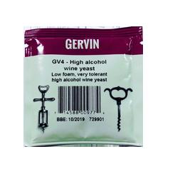 Дрожжи винные Gervin GV4 High Alcohol Wine, 5 гр.