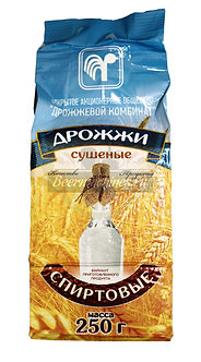 Спиртовые дрожжи Дрожжевой комбинат (Беларусь), 250 г