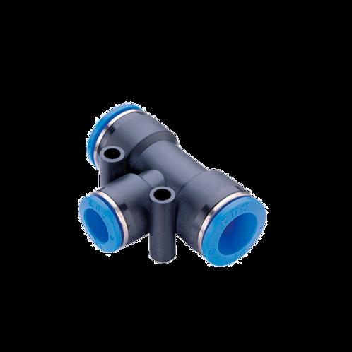 Тройник  под трубку 8 мм (быстросъемные соединения)