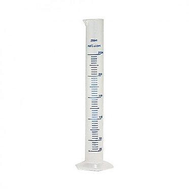 Цилиндр мерный пластиковый, 250 мл