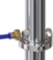 Фитинги обновлённого Luxstahl 6 имеют резьбу 1/2 дюйма, обладающую большей универсальностью в плане замен. Вообще универсальность креплений всех комплектующих аппарата - залог того, что его можно модернизировать.
