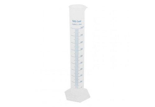 Цилиндр мерный пластиковый, 500 мл