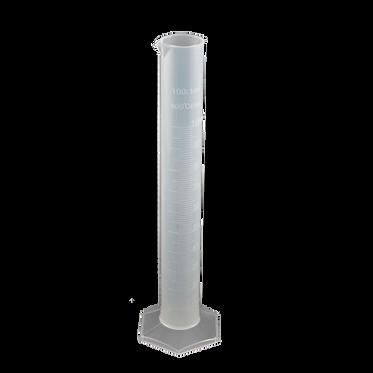 Цилиндр пластиковый мерный, 100 мл