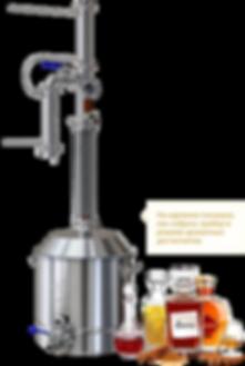 Самогонный аппарат Люкссталь 7 может производить виски, бренди, коньяк без многолетней выдержки, режим дистилляции, аппарат оптимален для производста ароматных дистиллятов