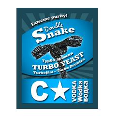 Дрожжи Double Snake C Star Turbo, 66 гр.