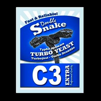 Турбо дрожжи Double Snake C 3 Turbo, 90 гр.
