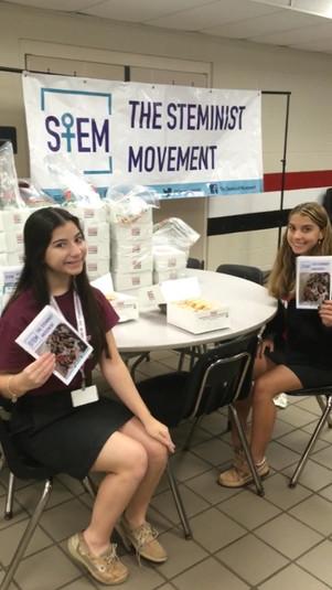 Steminist Movement has Krispy Kreme fundraiser at Evangelical Christian School